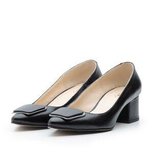Pantofi eleganti dama din piele naturala - 2176 Negru box