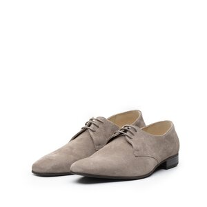 Pantofi casual barbati din piele naturala, Leofex - 112-7 taupe velur